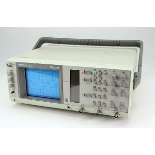 Philips Fluke PM 3050 Oszilloskop 2-Kanal 60 MHz Oscilloscop