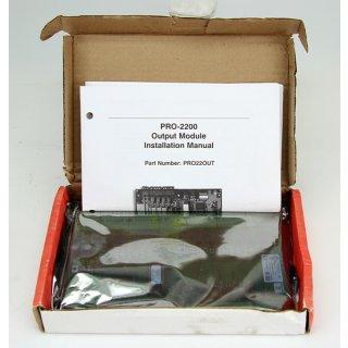 Honeywell PRO22OUT Output Module PRO-2200 REV: D