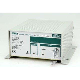 alpha elettronica AL570 Netzteil DC Power Supply 24V 1,8A