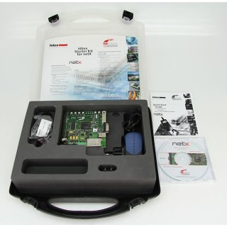 Hilscher Hitex NXSB100 Board für netX NXSB 100 mit Netzteil