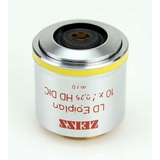 Zeiss Mikroskop Objektiv LD Epiplan 10X/0.25 HD DIC 442835