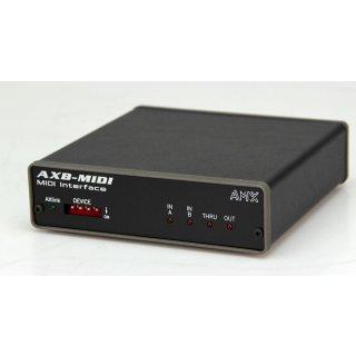 AMX AXB-Midi Interface Midi Schnittstelle AXlink Bus Device