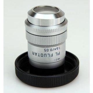 Leica Mikroskop Objektiv PL Fluotar 1,6X/0.05 566010