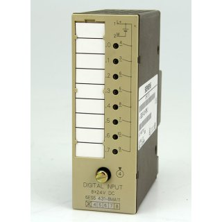 Siemens Simatic S5 6ES5431-8MA11 Digital Input Module - E-Stand 03