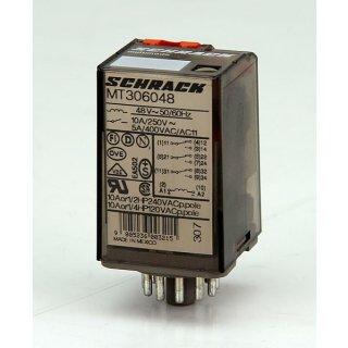 Schrack multimode Relais MT306048 3polig 48V