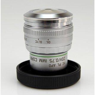 Leica Mikroskop Objektiv HC PL APO 20X/0.75 IMM CORR CS 506343