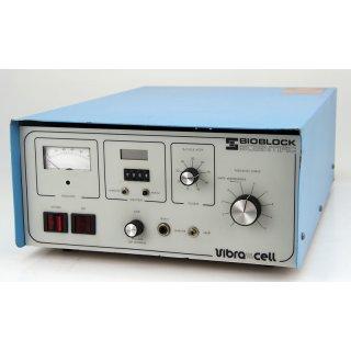 Bioblock Scientific VibraCell 72441 Ultraschallgerät Ultraschallprozessor
