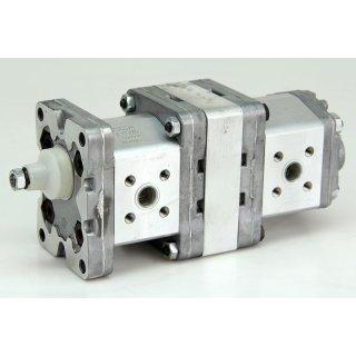 2 x Marzocchi 1PD 3,3 Zahnradpumpe Hydraulikpumpe