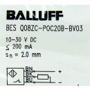 Balluff BES Q08ZC-POC20B-BV03 induktiver Sensor BES01TC