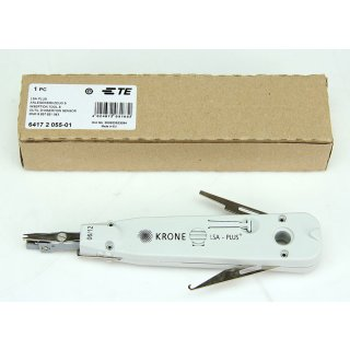 Krone LSA+ Plus Anlegewerkzeug S mit Sensor Kabelinstallation patchen