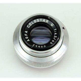 AGFA Colostar U 1:4,5/65 00653 Objektiv