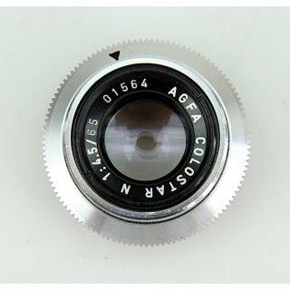 AGFA Colostar N 1:4,5/65 01564 Objektiv
