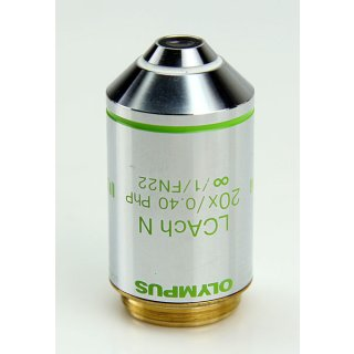 Olympus Mikroskop Objektiv LCAch N 20X/0.40 PhP