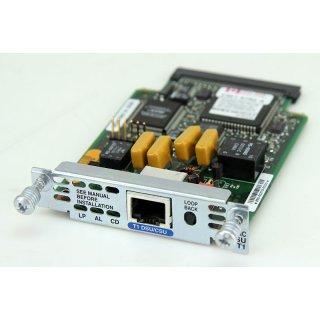 Cisco WIC-1DSU-T1 Routermodul WAN  DSU/CSU Interface Card