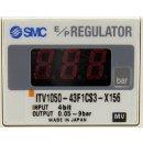 SMC E/P Regulator ITV1050-43F1CS3-X156 Elektropneum. Regler