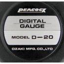 Peacock Digital Linear Gauge D-20 20mm Messbereich